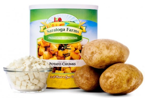 Saratoga Farms Freeze Dried Potato