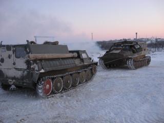 ГАЗ-71 и ГТТ