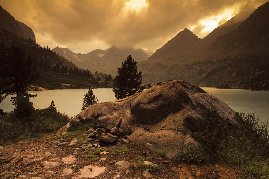 Озеро Дарашколь, автор Степанюк В.В.