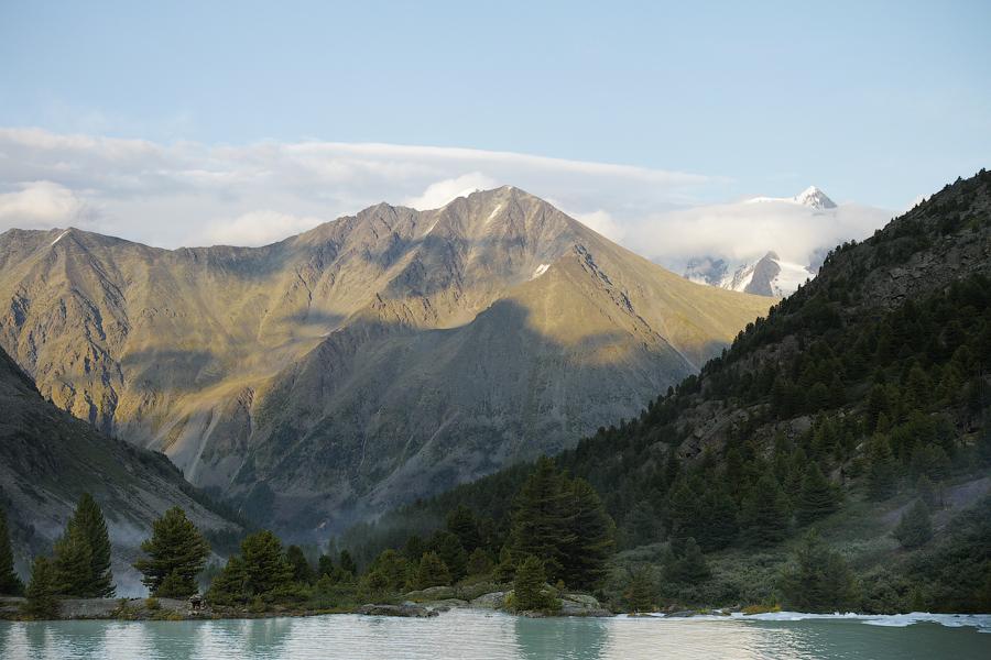 Вид на Корону Алтая с Запада
