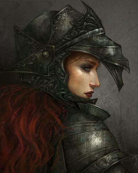 Utako Oelze - Armored woman.jpg