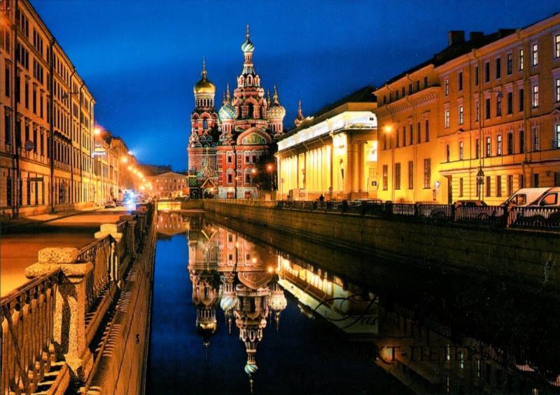 Открытки с видом на город санкт петербург