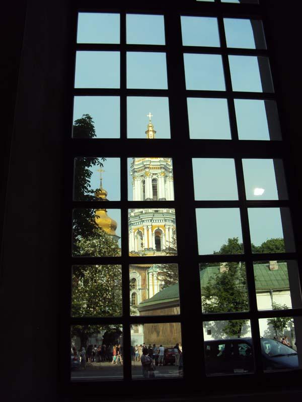 Вид из Арсенала на Киево-Печерскую Лавру