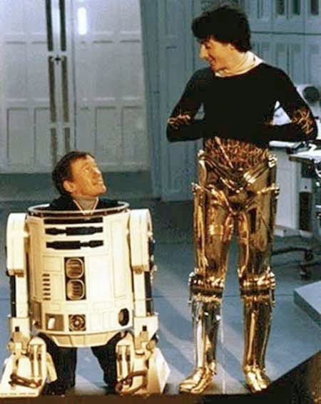 Inside R2D2 and C3PO 1982