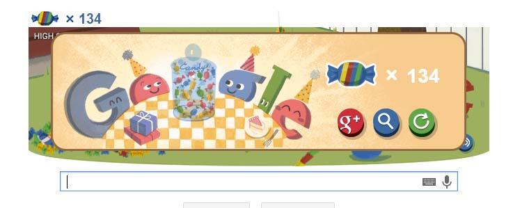 15 лет Google