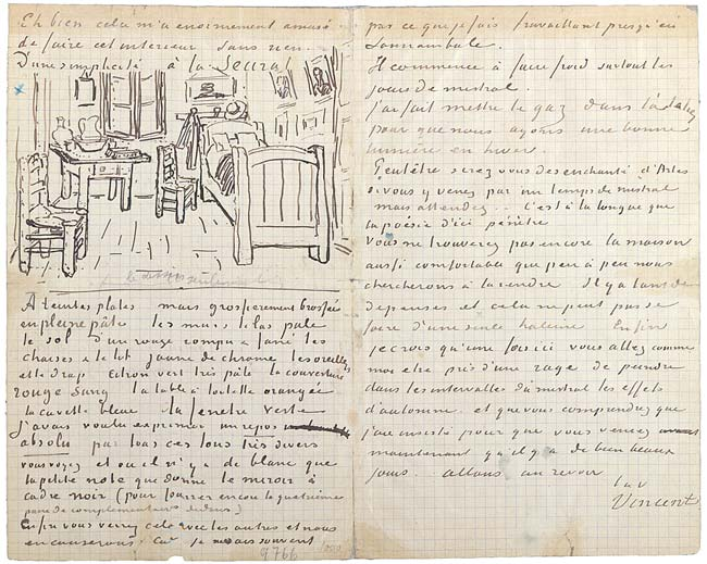 Письмо Гогену - Винсент ван Гог