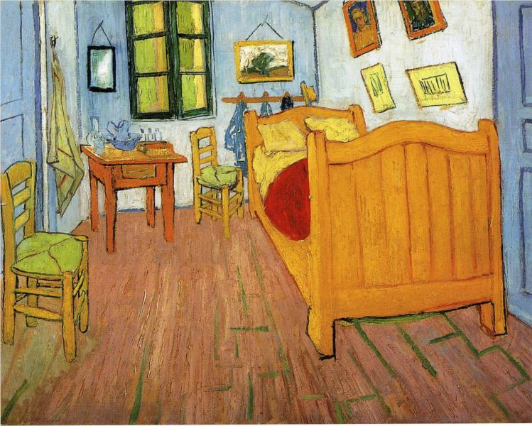 Vincent's Bedroom in Arles, 1888