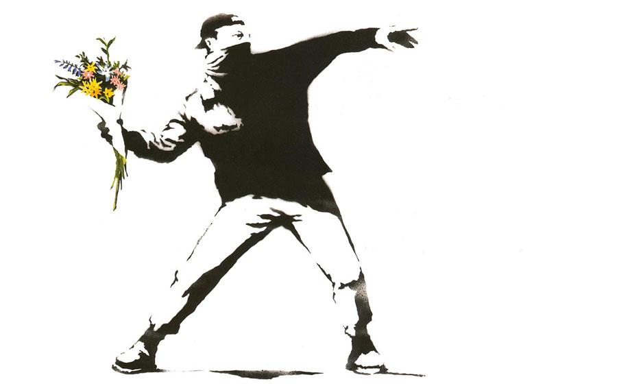 Зрозумілий нам Banksy Від чистого серця