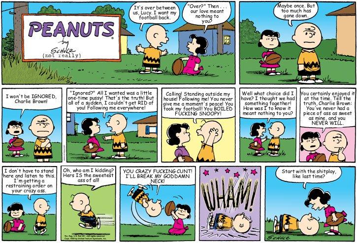 Peanuts Comic #1