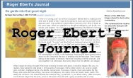 Roger Ebert's Journal