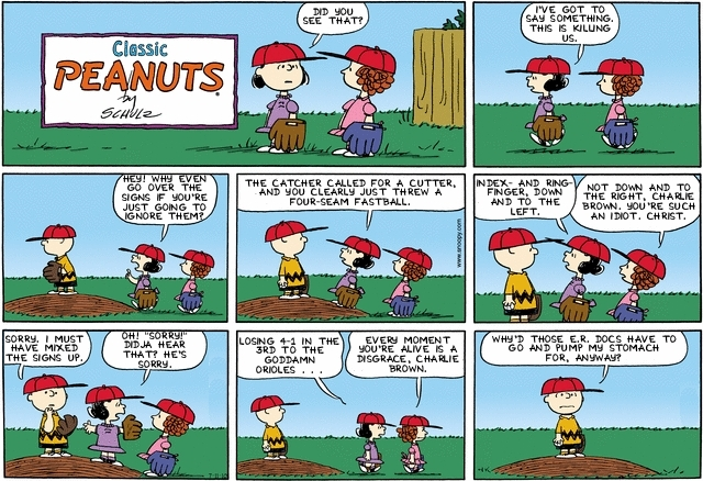"""Monday Comics: """"You Fucked-Up Now, Charlie Brown!"""" - Steve Likes ..."""