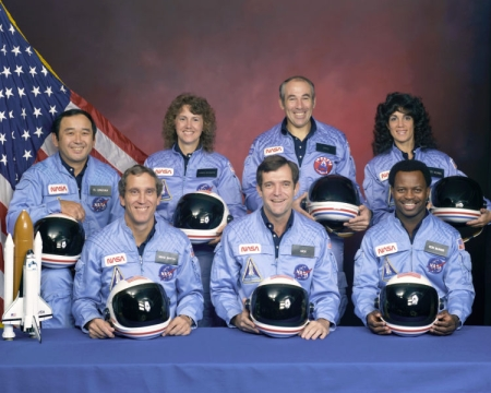 The crew of Space Shuttle Challenger STS-51-L