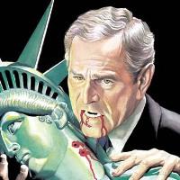 George W Bush by Alex Ross