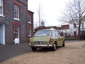 Morris 1300 in Fareham 180114 (3)