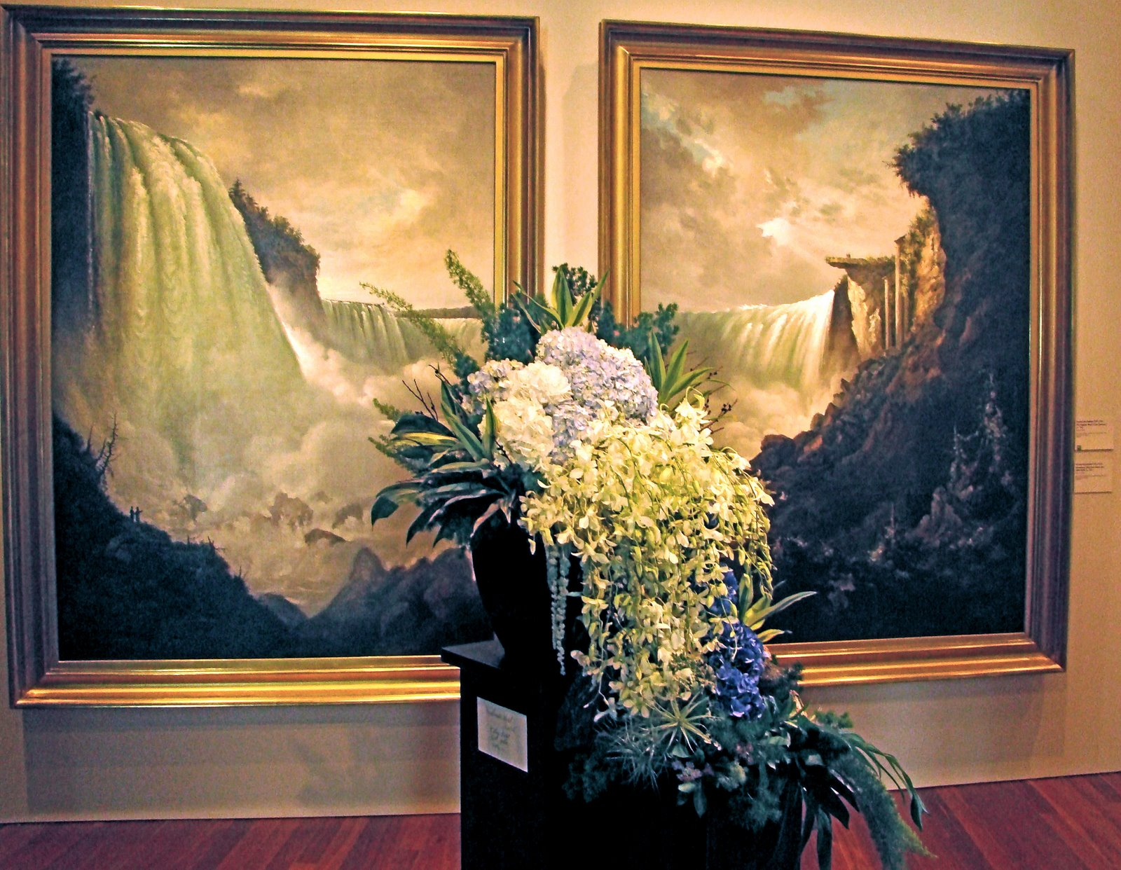 DSC04517 Bouquets to Art 2009 waterfall