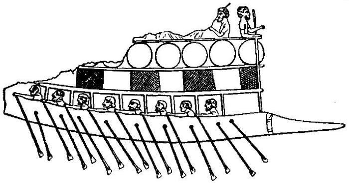 Amorite Phoenician Ship sent to Ophir
