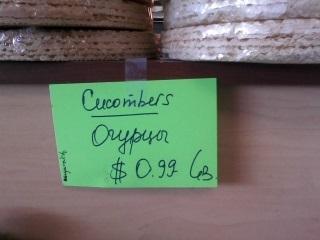 cocumbers