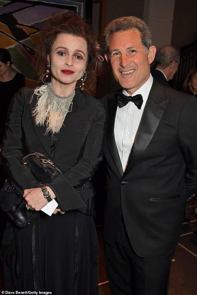 Helena Bonham Carter with Chairman Josh Berger..jpg
