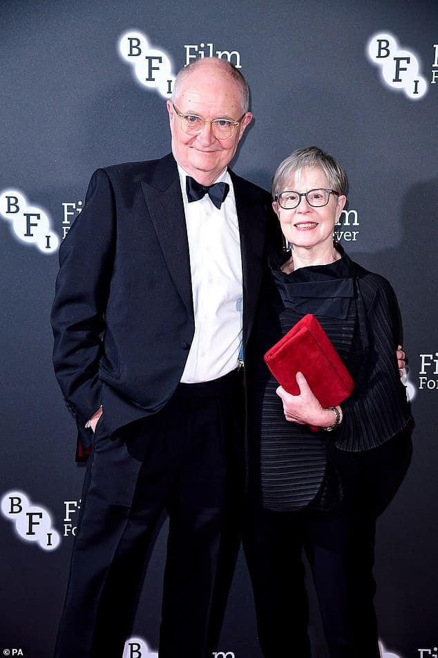 Jim Broadbent with his wife Anastasia Lewis..jpg