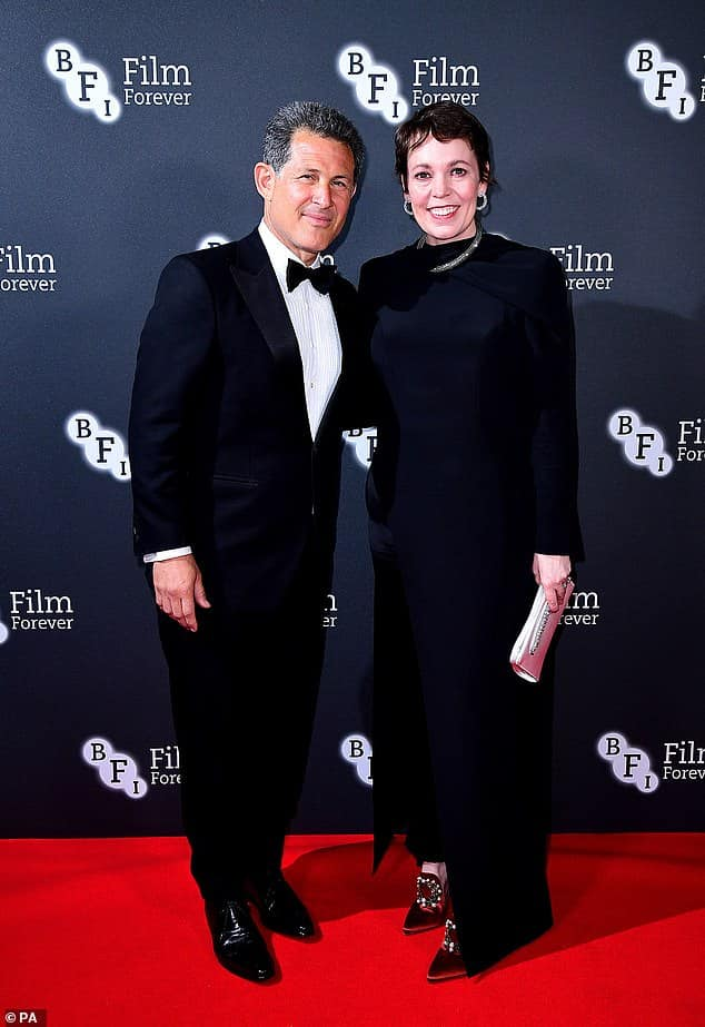 Olivia Colman with Chairman Josh Berger..jpg