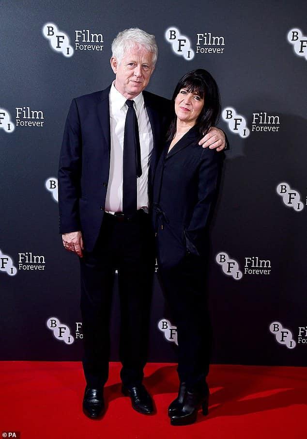Richard Curtis with Emma Freud..jpg