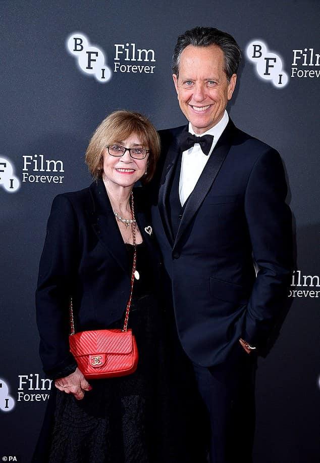 Richard E Grant with wife Joan Washington..jpg