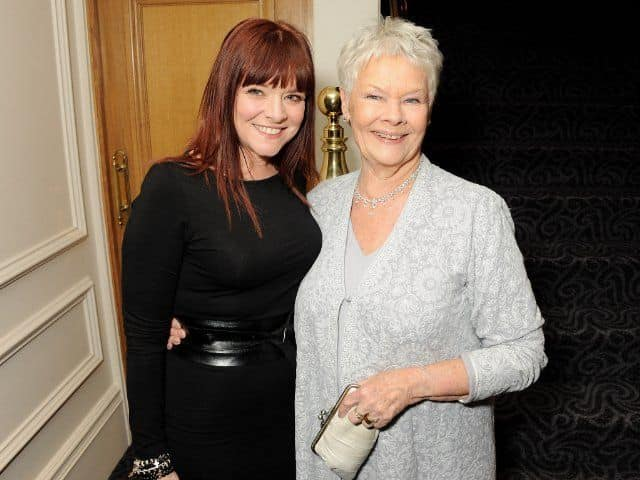 Finty Williams with her mother Dame Judi Dench.jpg