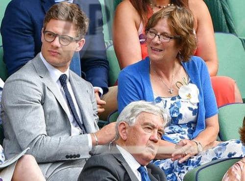 James Norton with his mother Lavinia J Norton.jpg