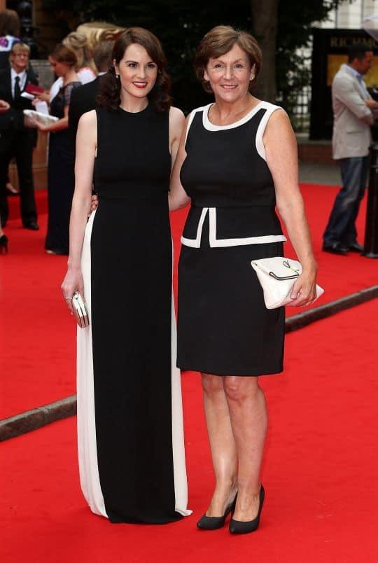 Michelle Dockery with her mother Lorraine.jpg