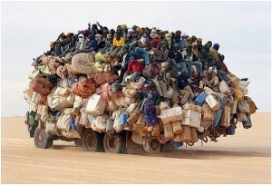 арабский грузовик