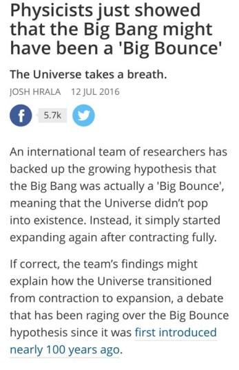 Pulsing Universe