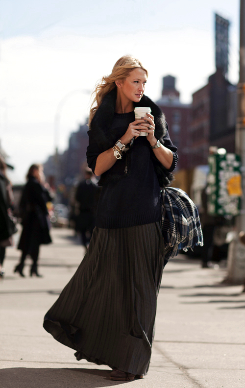 by Scott Schuman via The Sartorialist