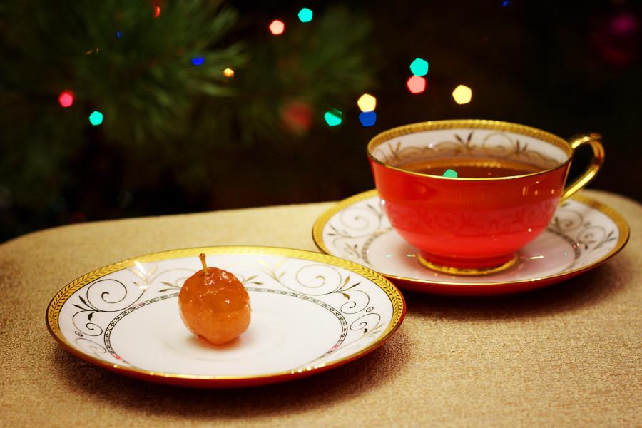 Tea&apple