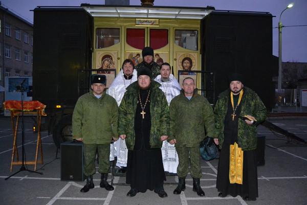 Военный священник Михаил Васильев