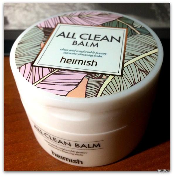Для тех, кто не любит умываться - Heimish, All Clean Balm