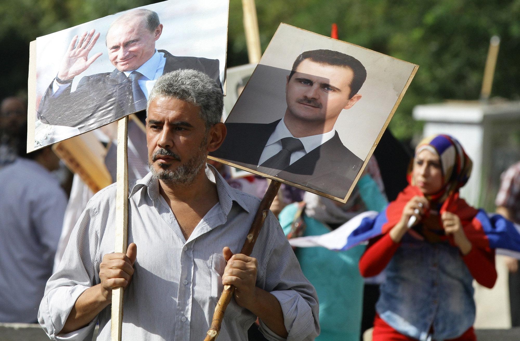 Путин делает ошибку в Сирии