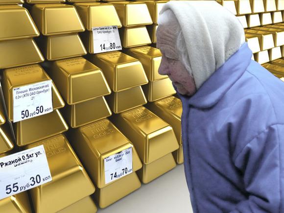 еальная пенсия в России на 20%