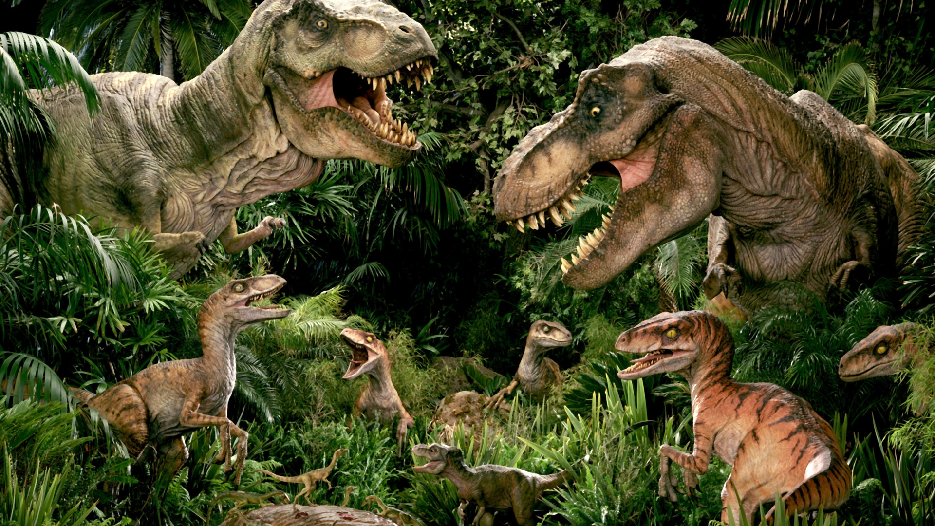 Добро пожаловать в Jurassic Park!L