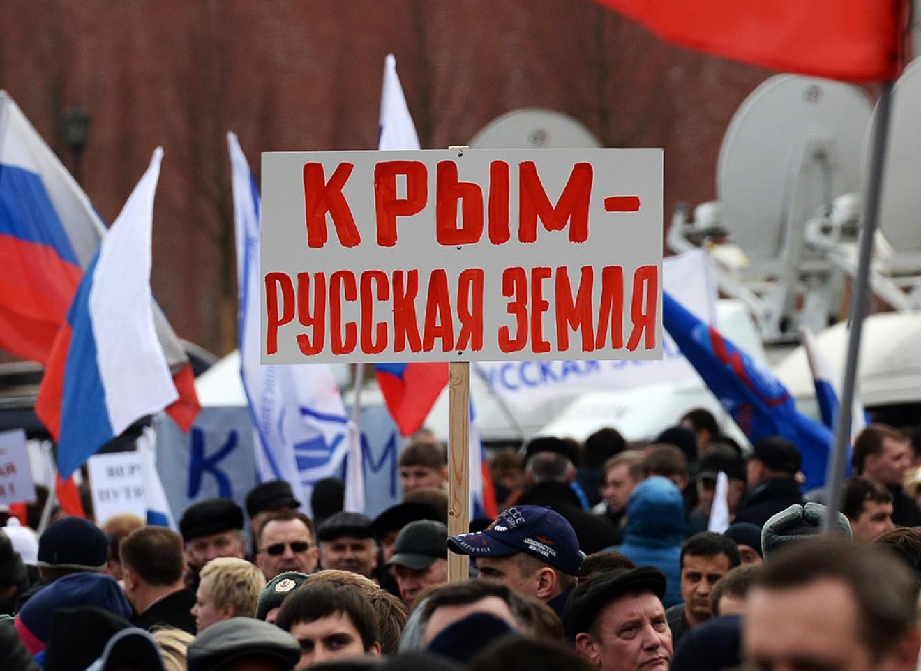 Рост недовольства в Крыму