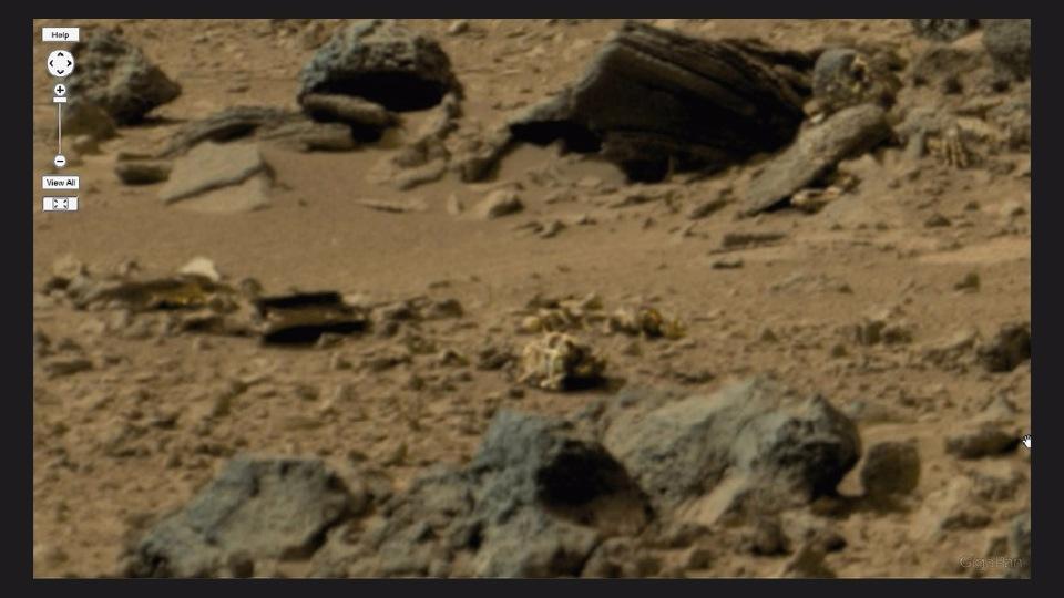 Мертвые инопланетяне на снимках NASA