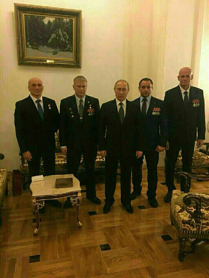 Путин с командирами «группы Вагнера»