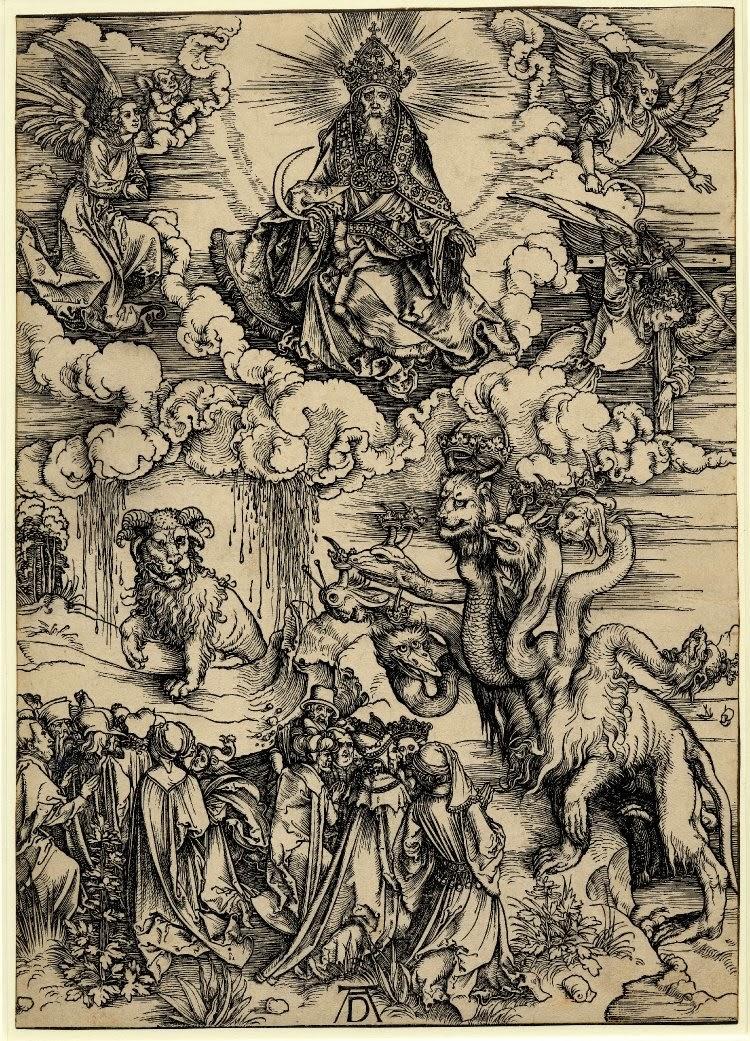 Гибрид или диктатура__Dürer_Apocalypse_14