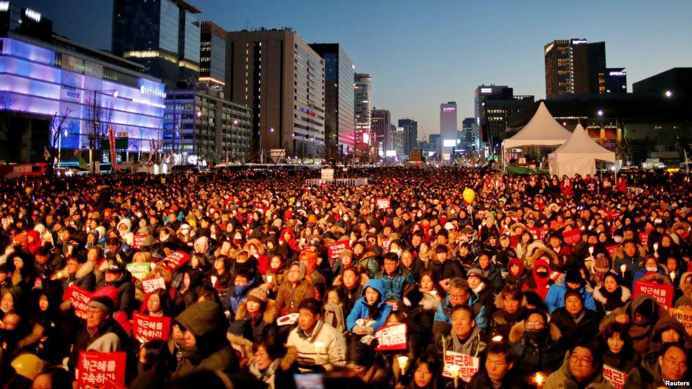 В Южной Корее арестовали министра