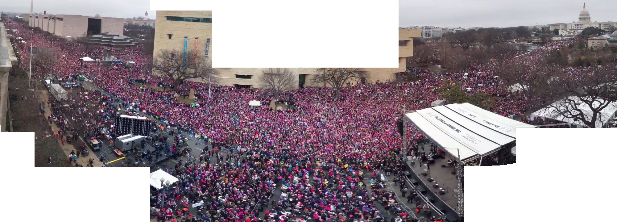 Trump's right Washington crowd WAS huge