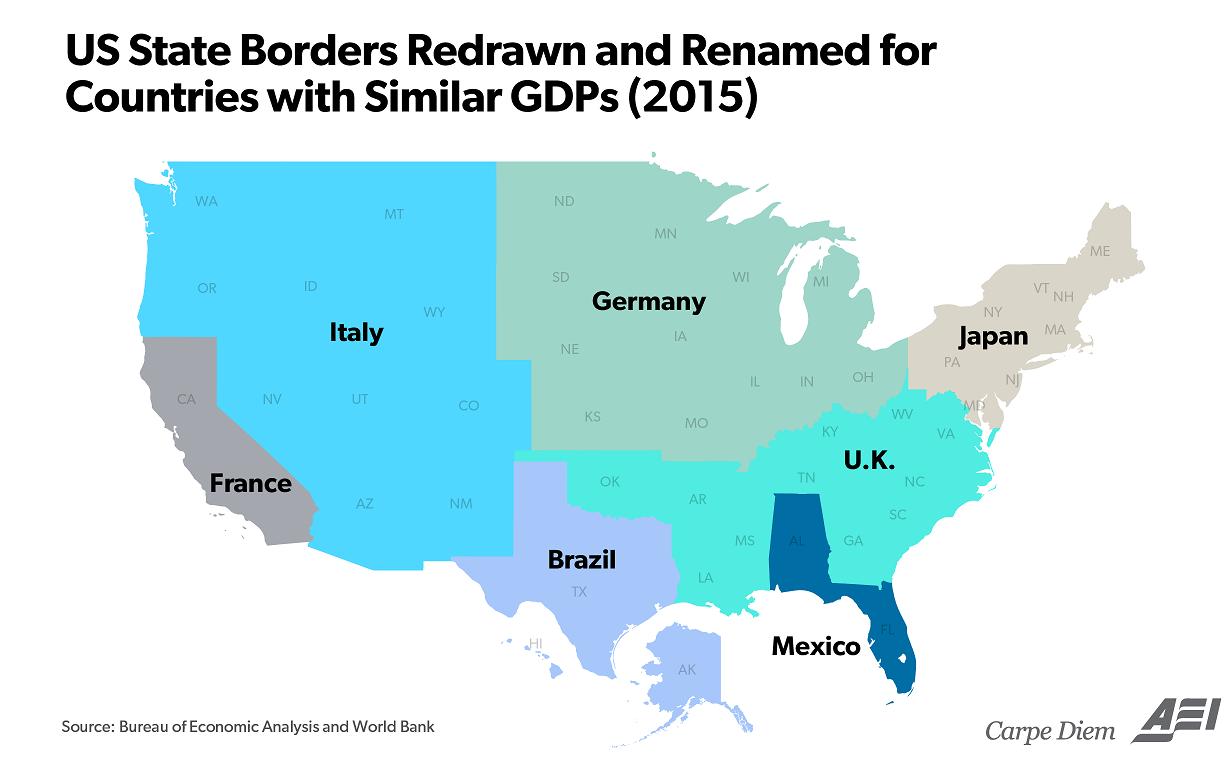 Если смотреть по ВВП