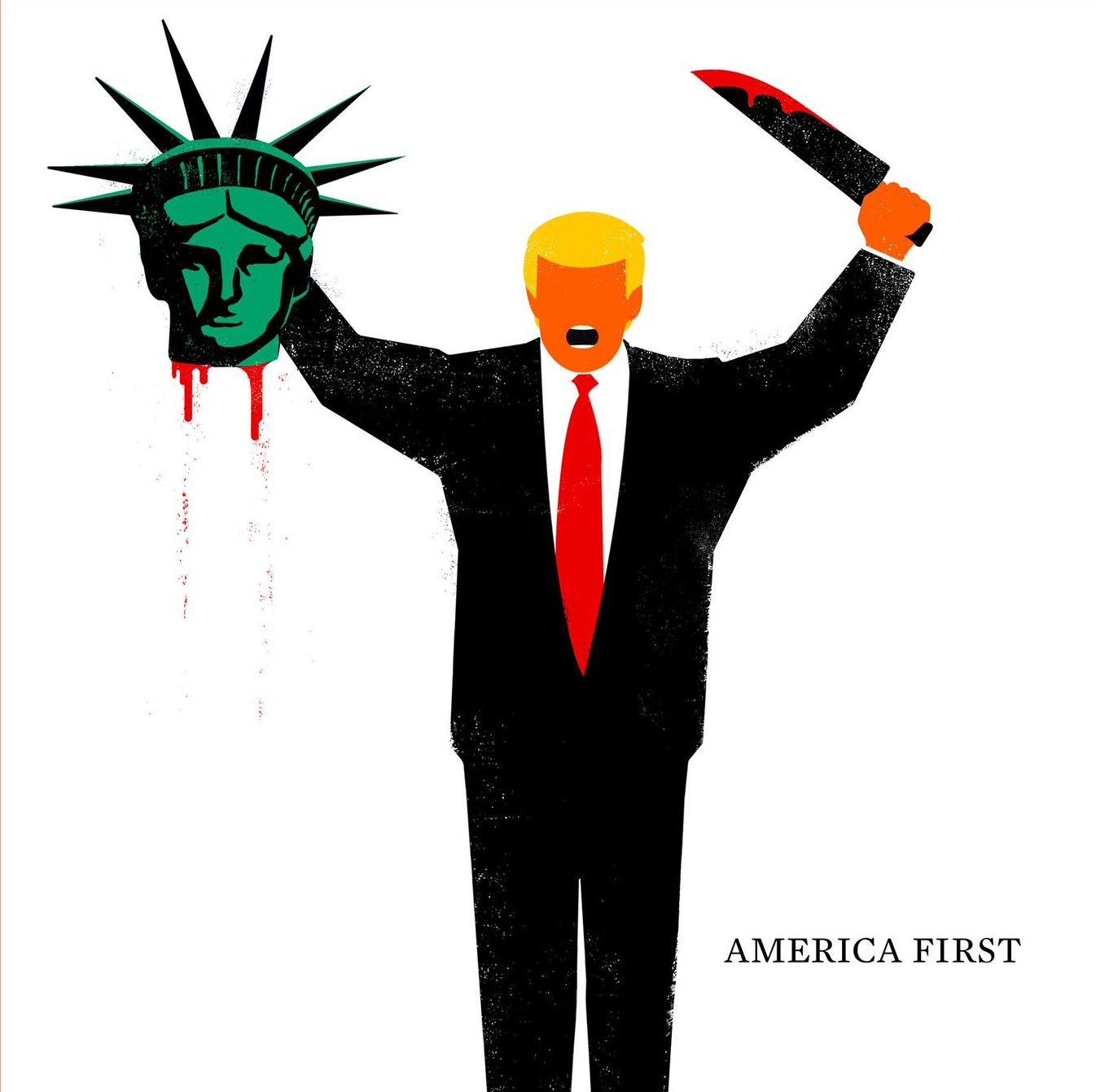 Американская пресса о Трампе и Путине