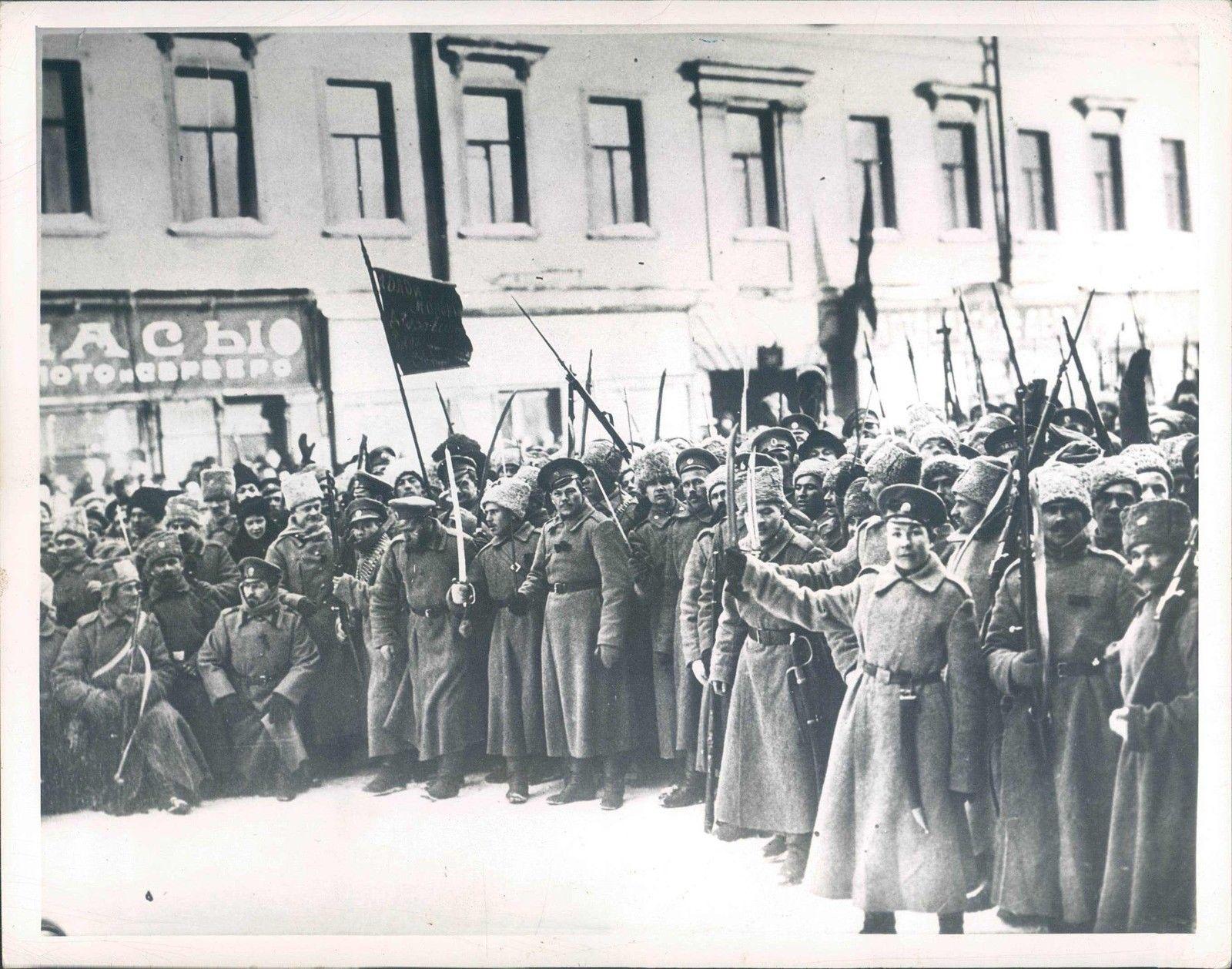 Русская революция все еще не завершилась