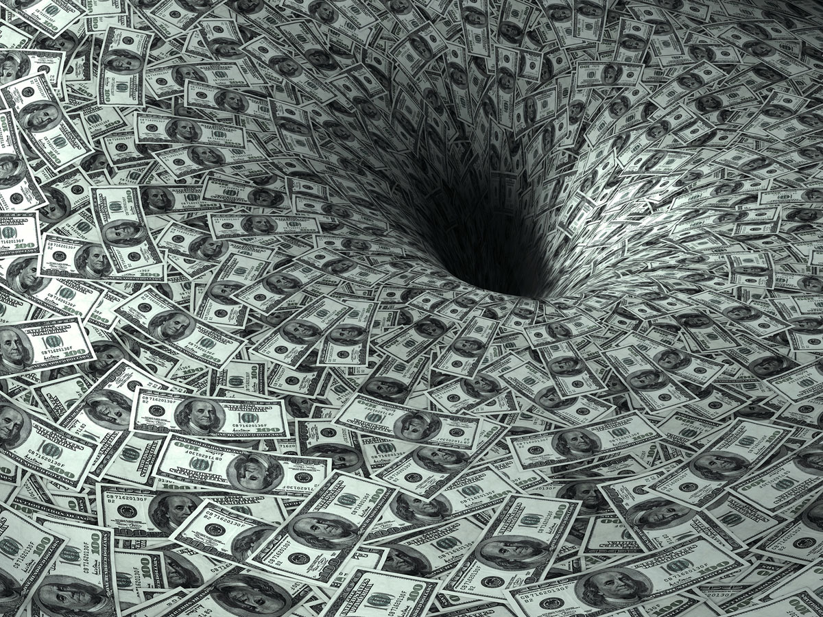 Черная дыра потребительских долгов
