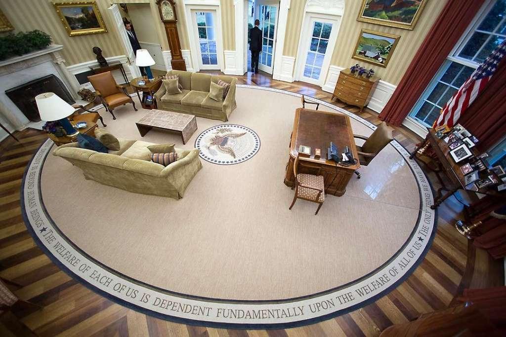 Через моря и ледники — в Белый дом