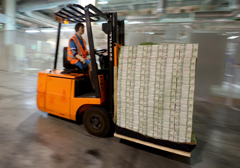 ЦБ напечатал триллион рублей под устные